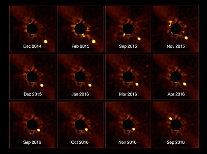 """Impresionante """"time-lapse"""" de un exoplaneta"""