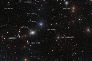 The effected image (ESO / Spavone et al.).