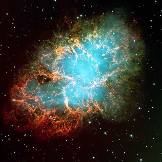 La nebulosa del Cangrejo en Tauro