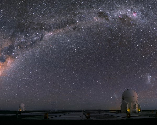 Auxiliary Telescopes And Satellites Eso