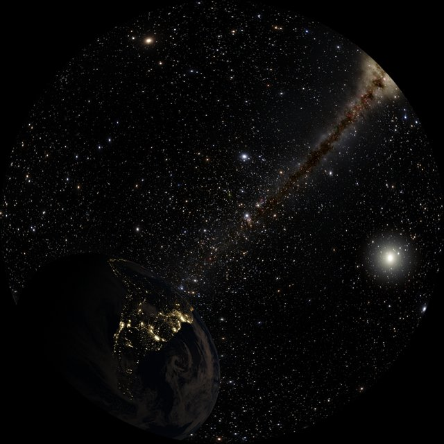 From Earth to Andromeda  ESO