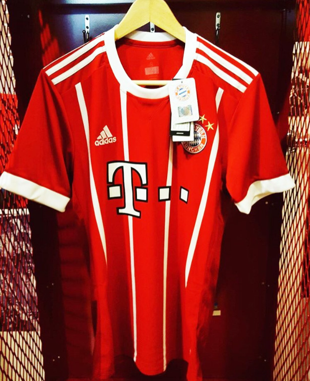 Bayern Nova Camisa 1 Adidas 16/05/2017