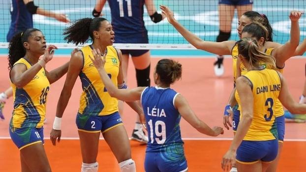 Brasil atropelou a Coreia do Sul e mantém 100% na Olimpíada