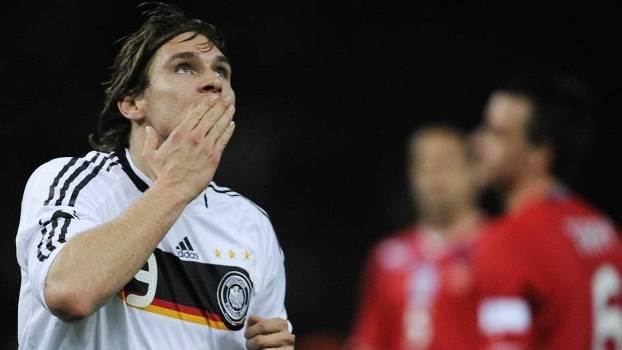 Patrick Helmes defendeu a seleção alemã 13 vezes entre 2007 e 2010