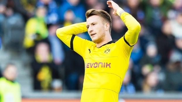 Marco Reus não jogou nesta temporada e também não esteve na Eurocopa