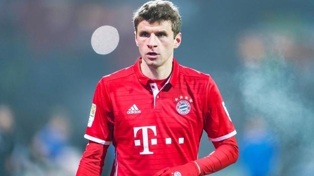Thomas Muller segue com prestígio no Bayern