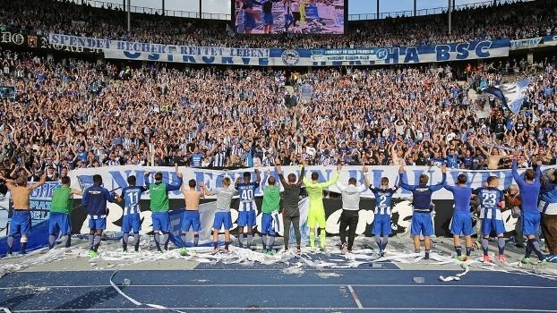 Hertha Berlin terminou a Bundesliga na sexta posição