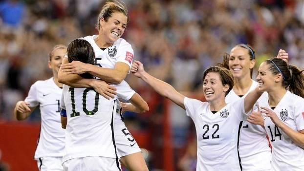 Seleção norte-americana passou pela Alemanha e está na final