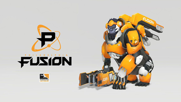 A Comcast Spectacor será Philadelphia Fusion, reprsentando a cidade de Filadélfia, Pensilvânia.