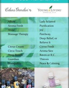 Young living vs edens garden oils blends comparison chart also essential cross reference rh essentialoilhaven