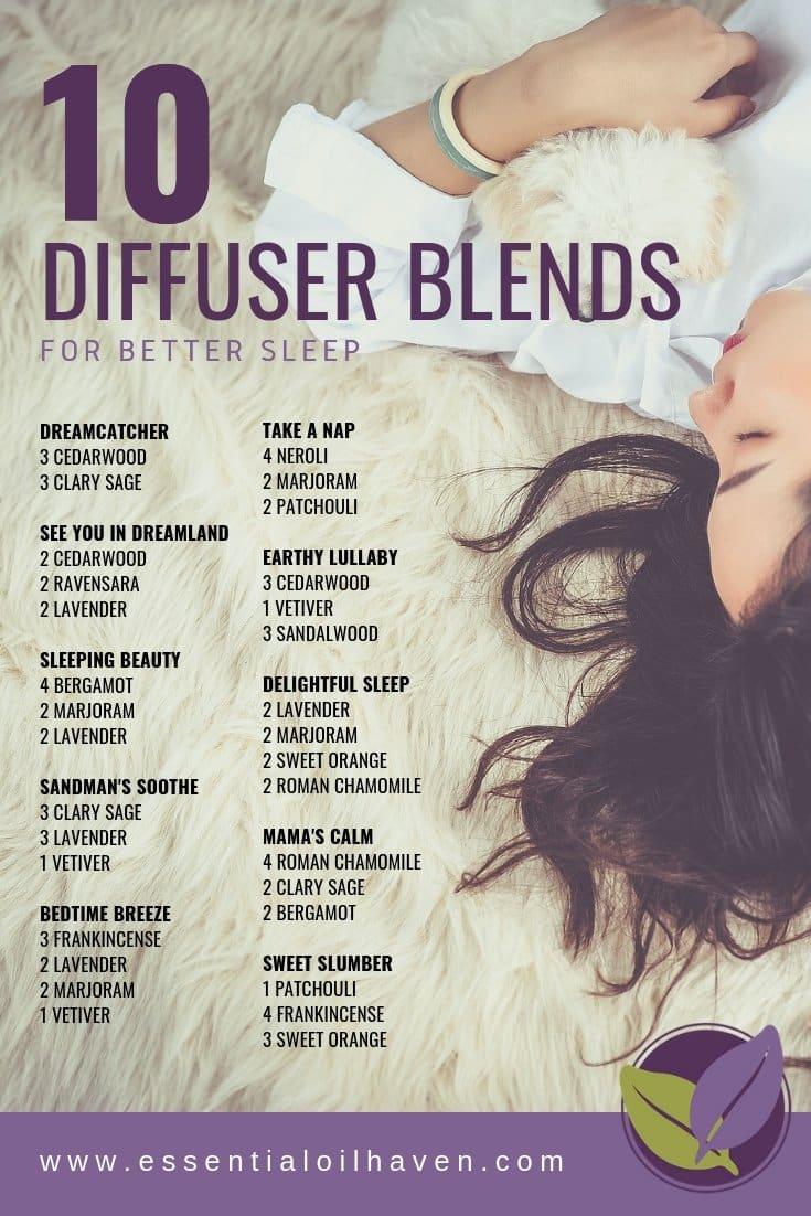 10 Fantastic Diffuser Blends for Better Sleep  Essential