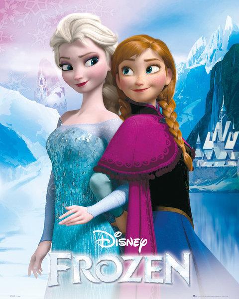 Frozen Huurteinen Seikkailu Elsa And Anna Juliste Poster Tilaa Netista Europosters Fi