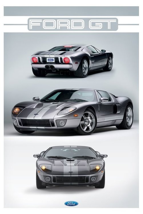 Ford Gt Poster : poster, Poster, Abposters.com