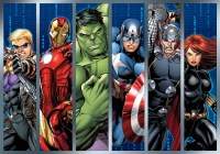 Marvel Avengers Wall Paper Mural | Buy at EuroPosters