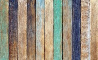 Wood Fence Planks Wall Paper Mural | Buy at UKposters