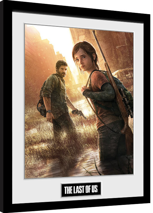 the last of us key art framed poster buy at europosters