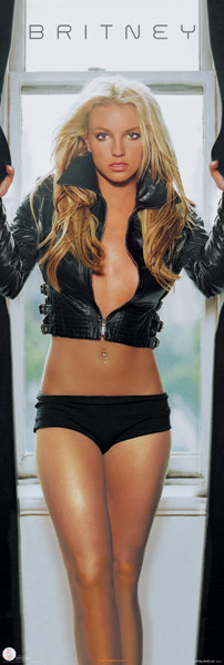 Britney Spears  leather Poster  Sold at Europosters