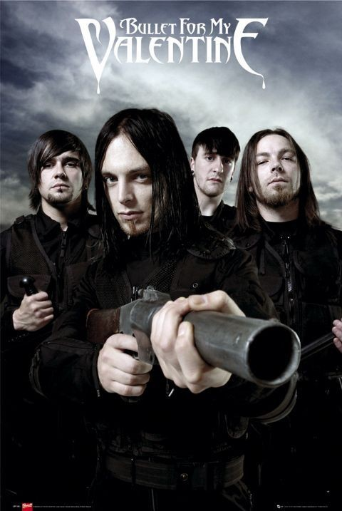 Bullet For My Valentine Guns Poster Sold At Europosters