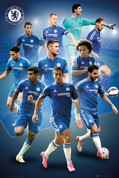 chelsea fc players 15 16 poster all posters in one place 3 1 free