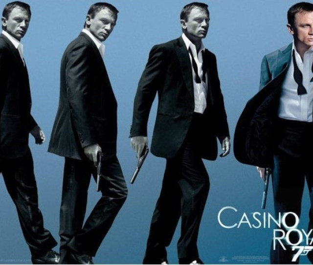 James Bond 007 Casino Royale Poster