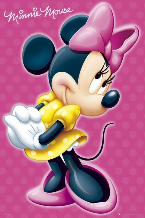 MINNIE MOUSE Signature Poster Sold At Europosters