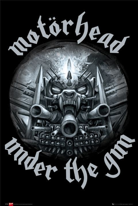 Motorhead Under The Gun Poster Sold At Europosters
