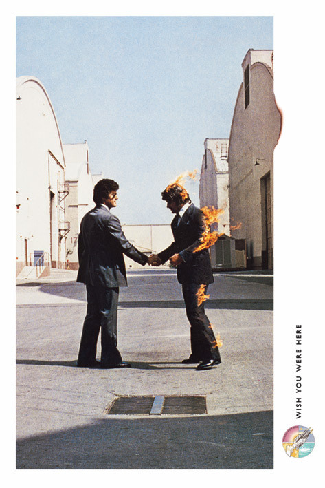 Pink Floyd - Wish You Were Here : floyd, Floyd, Poster, Abposters.com
