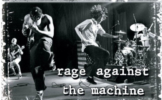 Rage Against The Machine Stage Poster Sold At