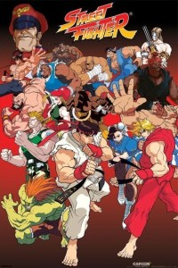 STREET FIGHTER - anime Poster | Sold at Europosters