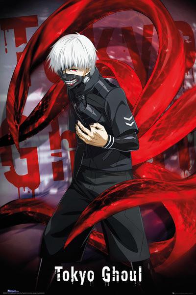 Tokyo Ghoul Ken Kaneki : tokyo, ghoul, kaneki, Tokyo, Ghoul, Kaneki, Poster, Abposters.com