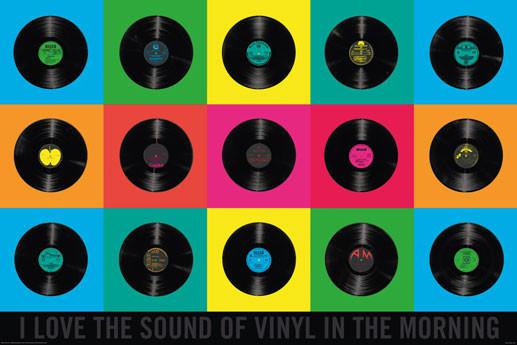 vinyl poster sold at