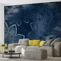 Modern Abstract Pattern Wall Paper Mural | Buy at ...