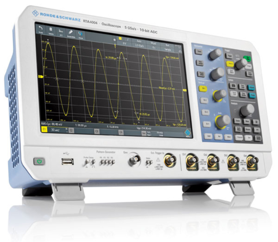hight resolution of oscilloscope knobe explained with diagram