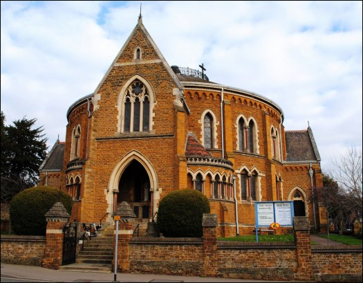 The Exterior of Wellingborough URC