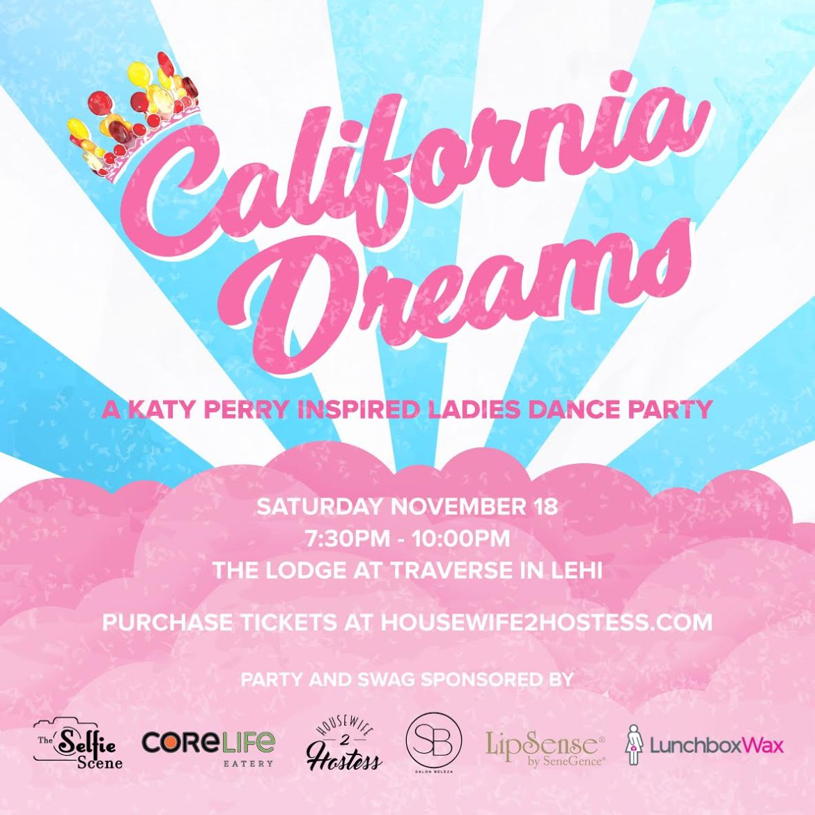 California Dreams Dance Party