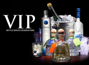 VIP Bottle Service Reservation
