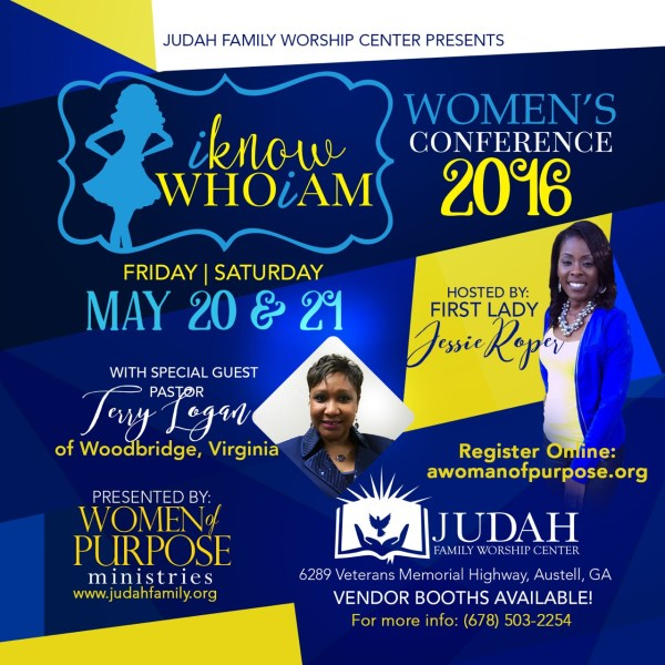 Women of Purpose Conference 3916 I Know Who I Am