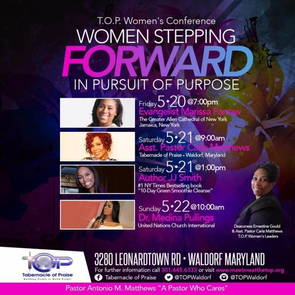 TOP Women39s Conference Women Stepping FORWARDin