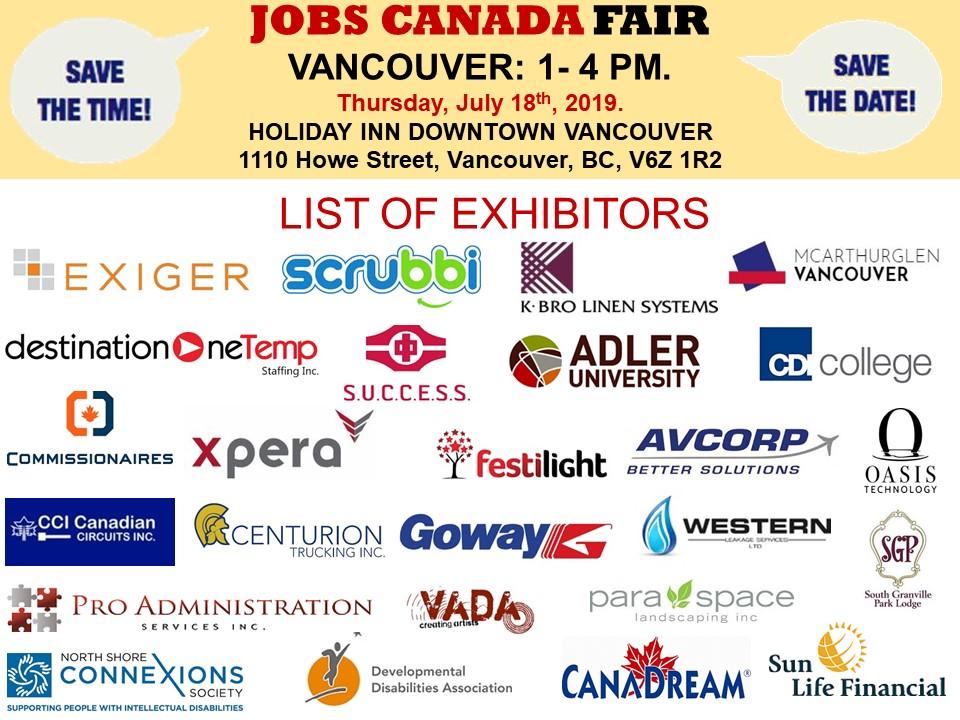 Job Fairs British Columbia - Rose Recruitment