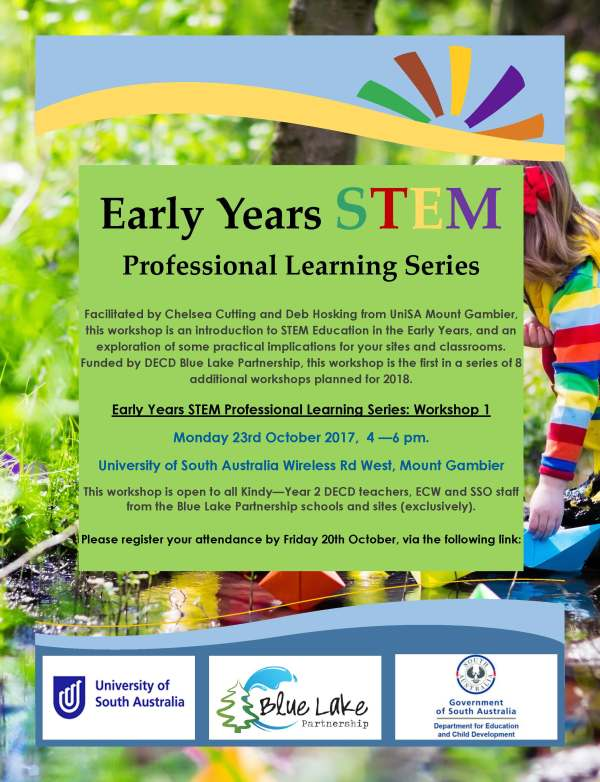 Early Years Stem Professional Workshop Series 1