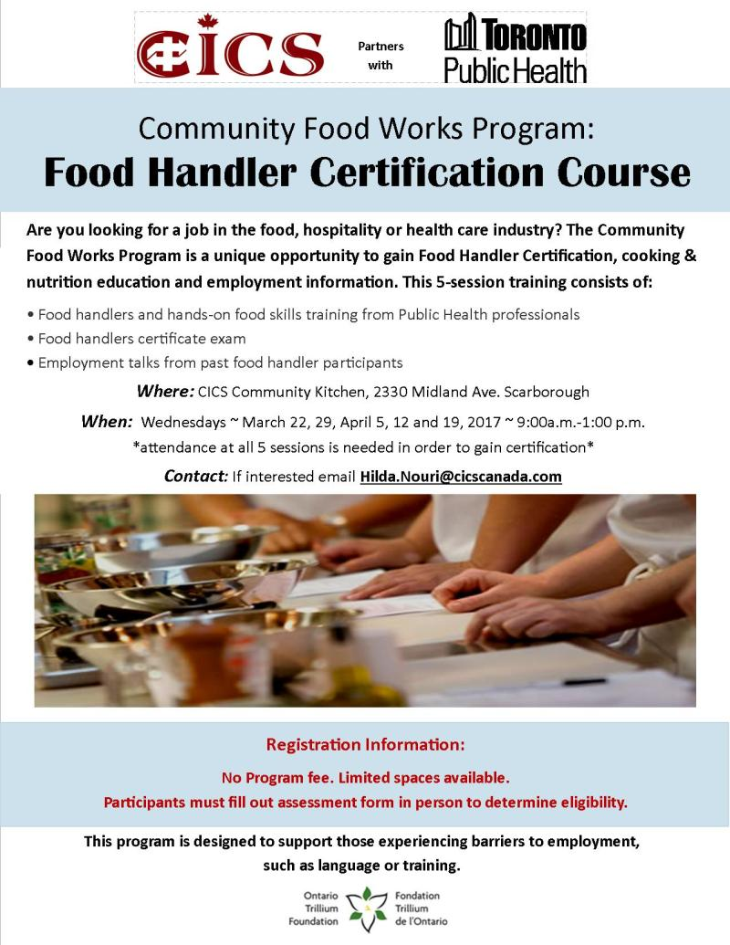 Food handler certified foodfash community food works handler certification course tickets 1betcityfo Images