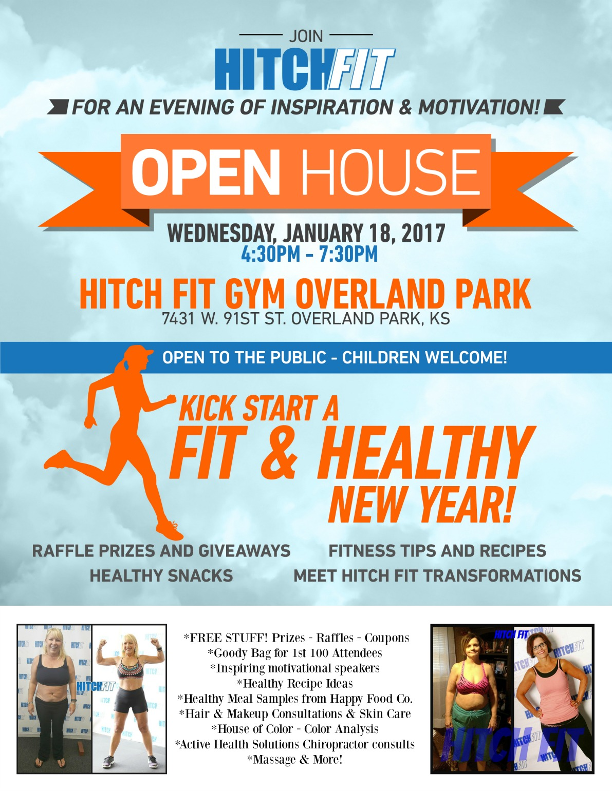 New Year New You Open House Inspiration Motivation & PRIZES