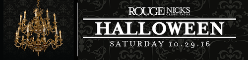 San Francisco Halloween Party at Rouge