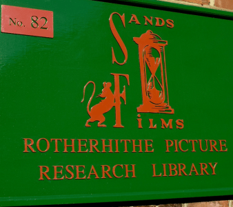 Sands Films Studios and Rotherhithe Picture Research Library