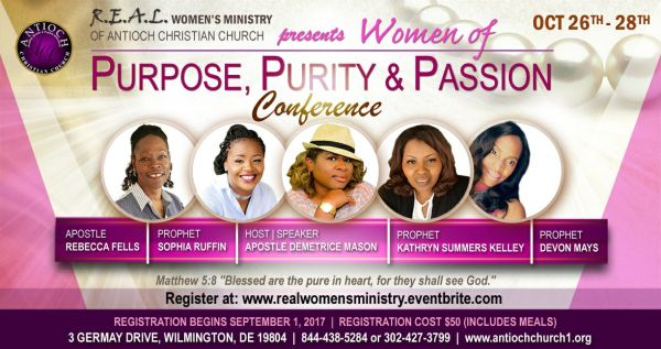 Purpose Purity and Passion Women39s Conference Tickets
