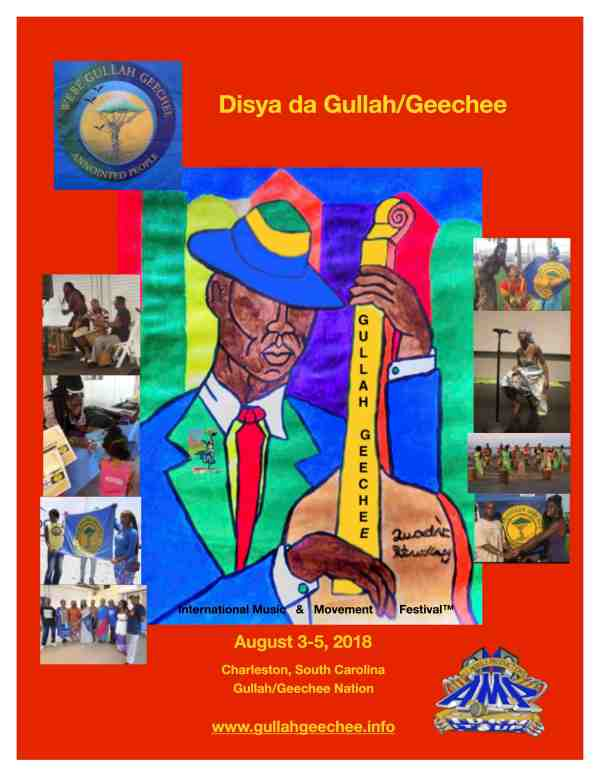 Gullah/Geechee Nation International Music & Movement Festival 2018 Flyer