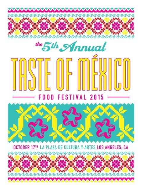 Taste of Mexico 2015 by Artist Ernesto Yerena