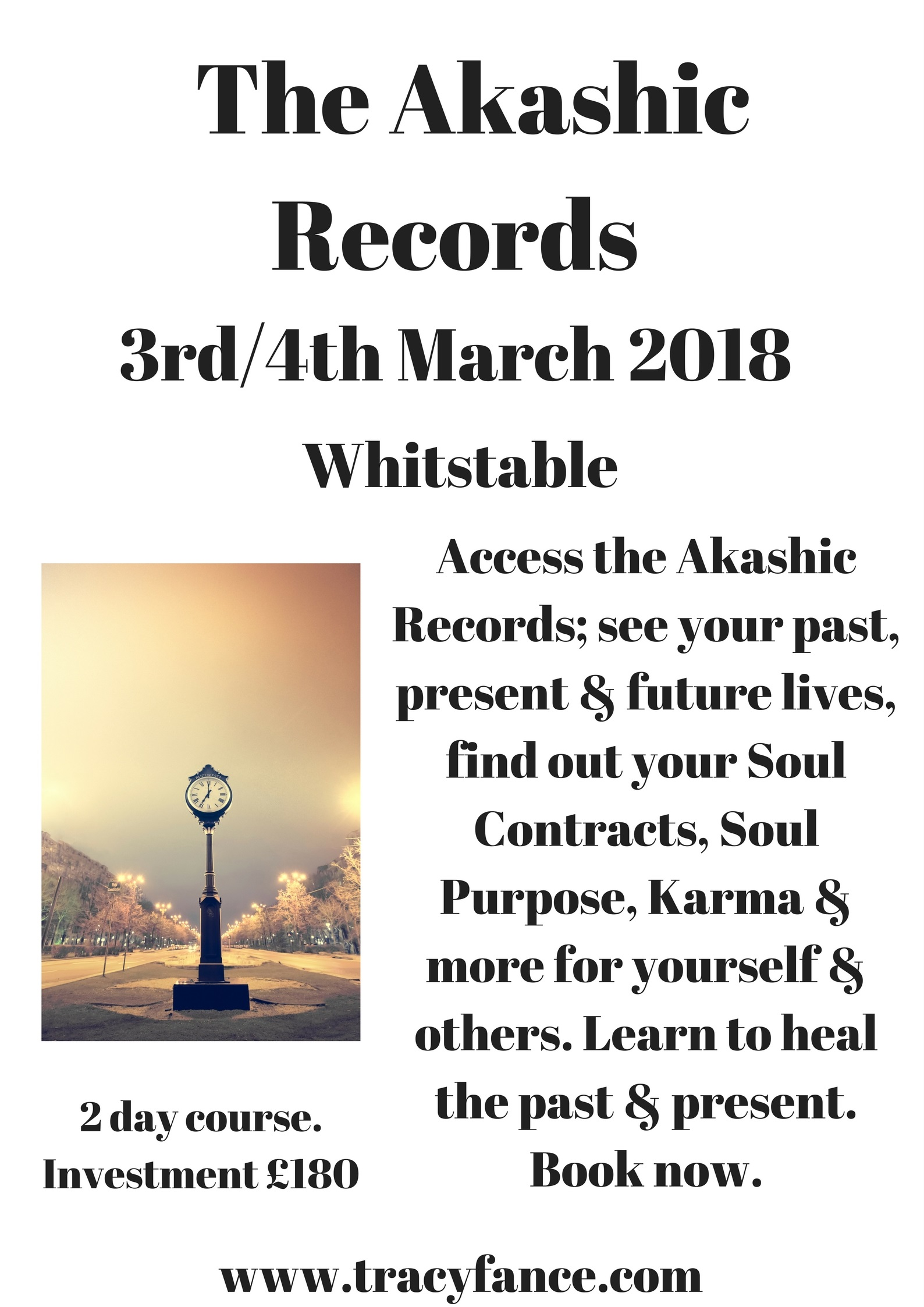 Akashic Records Workshop Poster