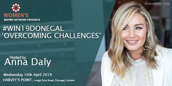 Anna Daly Hosts Win19Donegal