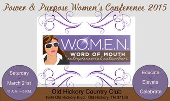 Power Purpose Women39s Conference 2015 Tickets Sat Mar